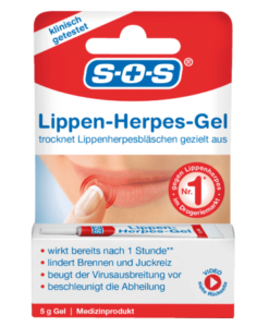 Gel trị herpes mụn rộp môi SOS Lippenherpes Gel, 5 g