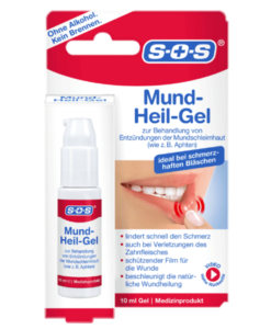 Gel trị nhiệt miệng siêu tốc SOS Mund-Heil-Gel, 10 ml