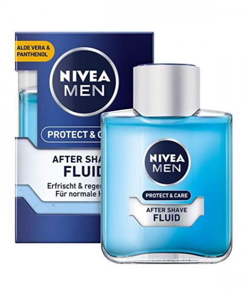 NIVEA MEN After Shave FLUID Protect & Care, 100 ml