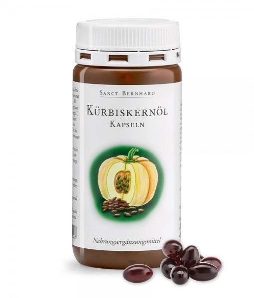 Viên uống Sanct Bernhard Kurbiskernol Kapseln hỗ trợ tuyến tiền liệt và bàng quang, 150 viên