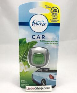 Nước hoa khử mùi xe hơi Febreze CAR Frühlingserwachen hương hoa cỏ mùa xuân, 2ml