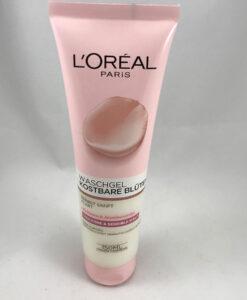 Sữa rửa mặt Loreal Skin Expert kostbare Bluten Waschgel cho da khô và nhạy cảm, 150ml