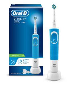 Bàn chải đánh răng điện Oral-B Vitality 100 Cross Action Blue, 1 chiếc