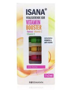 Tinh chất ISANA Vitamin Booster tái tạo, phục hồi da, 7x2ml