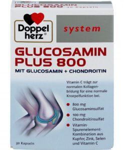 Viên uống bổ sụn khớp Doppelherz System Glucosamin Plus 800, 30 viên