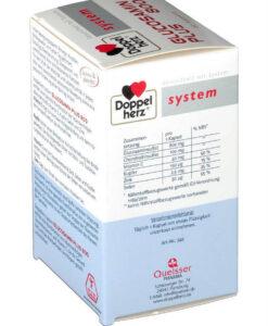 Viên uống bổ sụn khớp Doppelherz System Glucosamin Plus 800, 60 Viên
