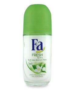Lăn khử mùi Fa Fresh & Dry trà xanh, 50 ml