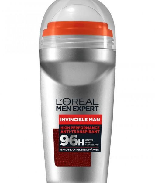 Lăn khử mùi nam Loreal Men Expert Invincible Man 96h, 50ml