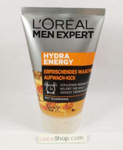Sữa rửa mặt cho nam Loreal Men Expert Hydra Energy Aufwach-Kick, 100 ml