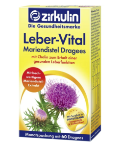 Viên uống bổ gan Zirkulin Leber-Vital Mariendistel Dragees, 60 viên
