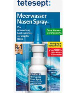 Xịt mũi nước biển Tetesept Meerwasser Nasen Spray, 20ml