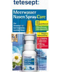 Xịt mũi nước biển Tetesept Meerwasser Nasen Spray Care, 20ml
