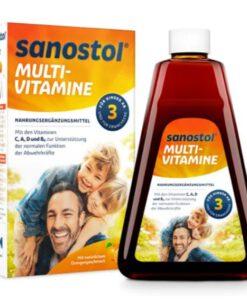 Vitamin tổng hợp Sanostol số 3 cho trẻ từ 3 tuổi, 230ml
