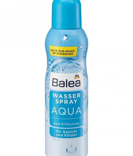 Xịt khoáng Balea Wasserspray Aqua khoáng tinh khiết, 150 ml