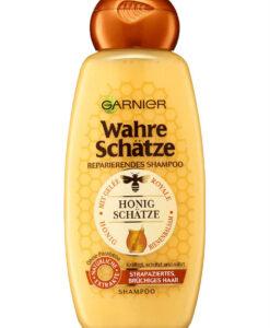 Dầu gội GARNIER Wahre Schätze Honig mật ong phục hồi tóc hư tổn, gãy rụng, 300ml