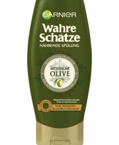 Dầu xả GARNIER Wahre Schätze Mythische Olive cho tóc khô và hư tổn, 250ml