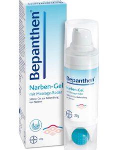 Gel trị sẹo Bepanthen Narbengel với con lăn massage, 20g