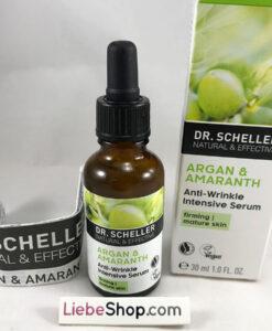 Huyết thanh Dr. Scheller ARGAN & AMARANTH Anti-Falten Intensiv Serum chống lão hóa, giảm nhăn, 30ml