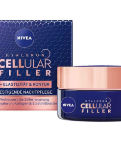Kem dưỡng da Nivea CELLular Filler Elastizität & Kontur tăng cường đàn hồi và săn chắc da ban đêm, 50 ml