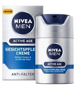 Kem dưỡng da NIVEA MEN Active Age giảm nhăn, chống lão hóa, 50ml