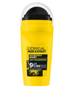 Lăn khử mùi Loreal Men Expert Invincible Sport 96h, 50ml