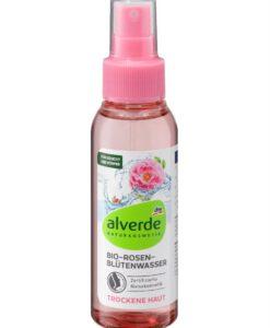 Nước hoa hồng alverde Bio-Rosen hữu cơ dạng xịt, 100ml