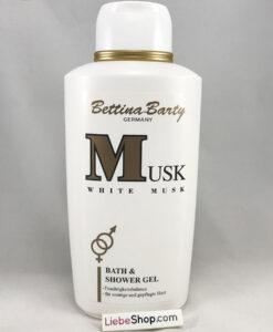Sữa tắm Bettina Barty White Musk Bath & Shower Gel, 500ml