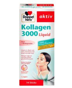 Doppelherz Kollagen 3000 Liquid bổ sung collagen dạng nước, 10ml x 14 gói