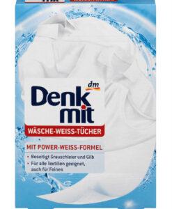 Miếng tẩy trắng quần áo Denkmit Wäsche-Weiss-Tücher, 20 miếng