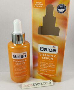 Serum Balea Vitamin C làm sáng da, mờ nám, đều màu da, 30ml