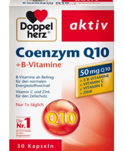 Viên uống bổ tim mạch Doppelherz Coenzym Q10 + B-Vitamine, 30 viên