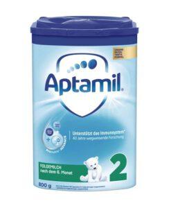 Sữa Aptamil số 2 Folgemilch cho bé trên 6 tháng tuổi, 800g