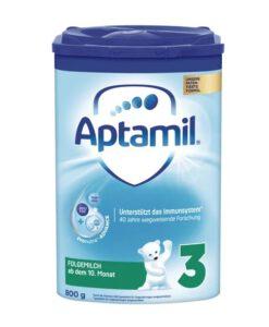 Sữa Aptamil số 3 Folgemilch cho bé trên 10 tháng tuổi, 800g