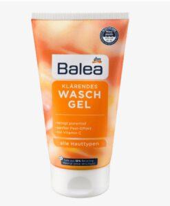 Sữa rửa mặt Balea Vitamin C Waschgel sáng da, mờ thâm nám, đều màu da, 150ml