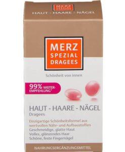 Viên uống đẹp da tóc móng Merz Spezial Dragees Haut-Haare-Nagel, 120 viên
