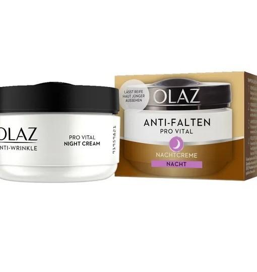 Kem dưỡng da Olaz Anti-Falten Pro Vital chống nhăn ban đêm, 50ml