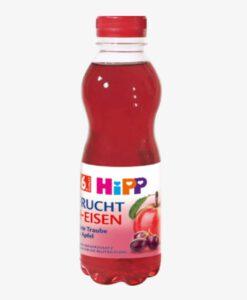 Nước ép trái cây HiPP Frucht + Eisen bổ sung sắt và vitamin C cho trẻ từ 6 tháng tuổi, 500ml
