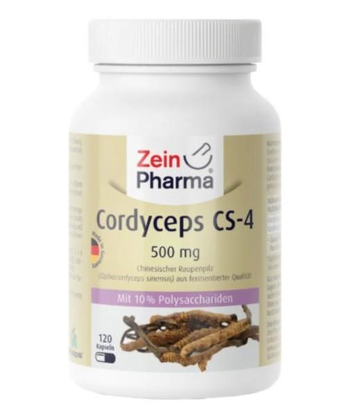 Tinh chất đông trùng hạ thảo Zeinpharma CORDYCEPS CS-4 500mg, 120 viên