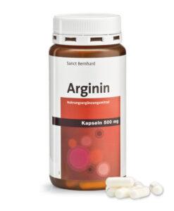 Viên uống Sanct Bernhard Arginin 500mg giải độc gan, tăng cường chức năng gan, 150 viên