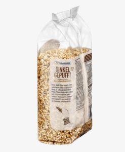 Bỏng lúa mì mật ong hữu cơ dmBio Dinkel Gepufft, 200g