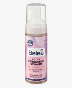 Sữa rửa mặt dạng bọt Balea Milder Reinigungsschaum cho da khô và nhạy cảm, 150ml
