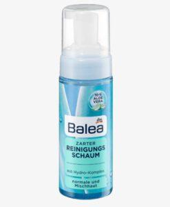 Sữa rửa mặt dạng bọt Balea Zarter Reinigungsschaum cho da thường và da hỗn hợp, 150ml