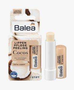 Tẩy da chết môi Balea Lippenpflege Peeling Cocos hương dừa, 4,8 g