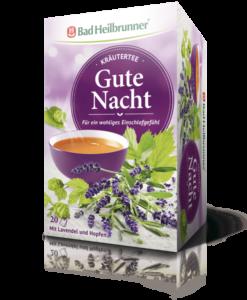 Trà thảo dược Bad Heilbrunner Gute Nacht giúp ngủ ngon, 20 gói