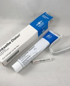 Thuốc mỡ Zinksalbe Dialon sát trùng, làm nhanh lành vết thương, 50g