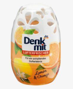 Sáp thơm phòng Denkmit Lufterfrischer Lemon & Orange hương cam chanh, 150 ml