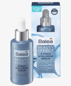 Serum Balea Beauty Effect 5-Fach Hyaluron - huyết thanh làm mịn và căng da, giảm nếp nhăn, 30ml