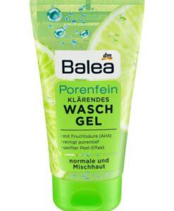Sữa rửa mặt Balea Porenfein Waschgel cho da hỗn hợp, 150ml