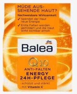 Kem dưỡng da Balea Q10 Anti-Falten Energy 24h-Pflege chống lão hóa giảm nhăn 24h, 50 ml