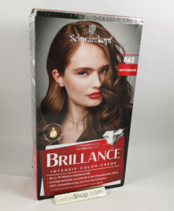 Thuốc nhuộm tóc Brillance Intensiv Color Creme 862 Naturbraun - màu nâu tự nhiên, 1 hộp